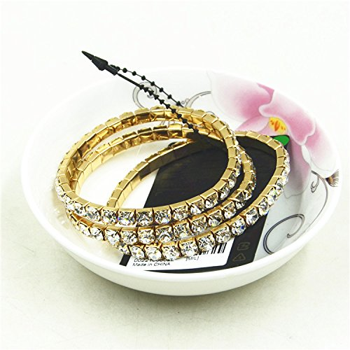 Ja and South Korea jewelry new fashion aosphere simplicity sparkling diamond bracelet female wild luxury suite Value (Diamonds Sparkling Bracelet)