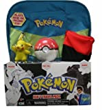 Pokemon Black & White Ash's Travel Pack Costume Gift Set Backpack