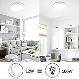 Ustellar Waterproof 15W LED Ceiling Lights, 11inch