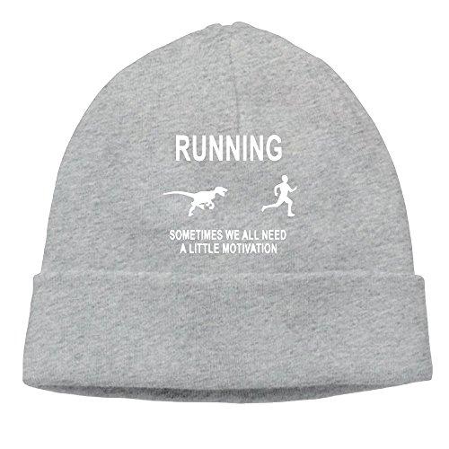 All That Jazz Velvet Hat (Running Sometimes We All Need A Little Motivation Winter Ski Men and Women Beanie Hat Thick Beanie Hat For Men and Women)