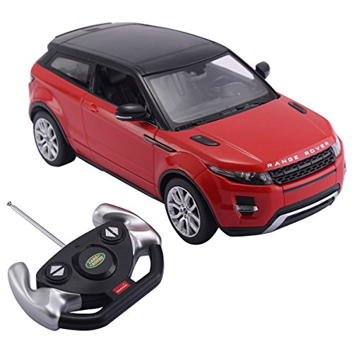 Costzon 1/14 Range Rover Evoque Licensed Electric Radio Remote Control RC Car Red (Red Range Rover)