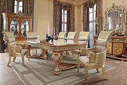 Amazon Com Inland Empire Furniture Kamala Goddess Formal 9 Piece