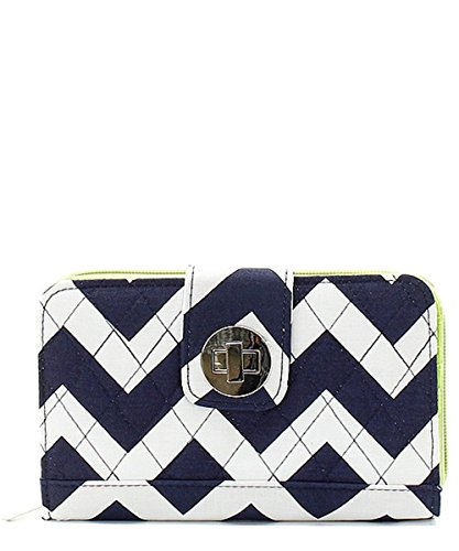 quilted clasp wallet - 4