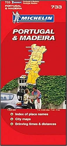 Michelin Map No Portugal Scale Michelin Guides - Michelin map portugal 733