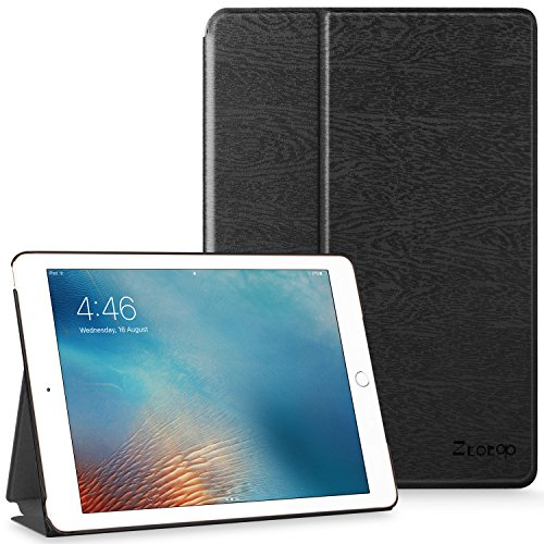 Ztotop Ipad 2017 Case for 9.7 inch Ipad, Lightweight Flip Stand Smart Case with Auto Sleep/Wake Function Hard Back Cover for New iPad 9.7 2017