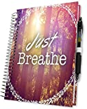 Tools4Wisdom 2019 Planner 5x8 - Daily Weekly & Monthly - Dated December 2018 to December 2019 (Just Breathe Cover)