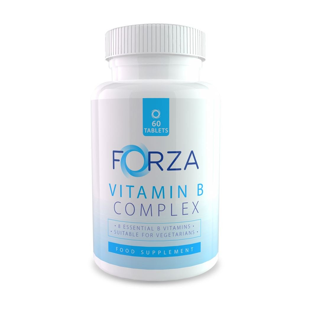 FORZA Vitamina B complejo - Ocho Vitaminas B en Cada Tableta ...
