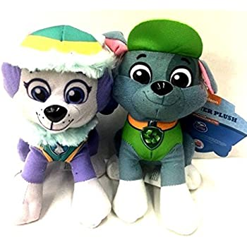 Amazon com: Paw Patrol Plush Pup Pals, Rocky: Toys & Games