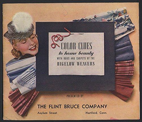 Bigelow Carpet - Bigelow Weavers Color Cues for Home Beauty brochure 1941 rugs & carpets