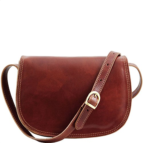 Marron Sac cuir Leather Marron Tuscany Isabella en bandoulière qAf7W0w8