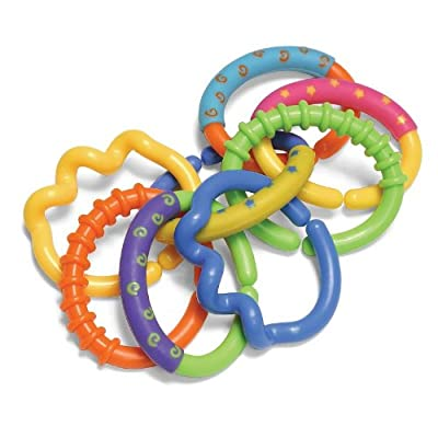 Infantino Ring-A-Links Teether Set : Baby Teether Toys : Baby