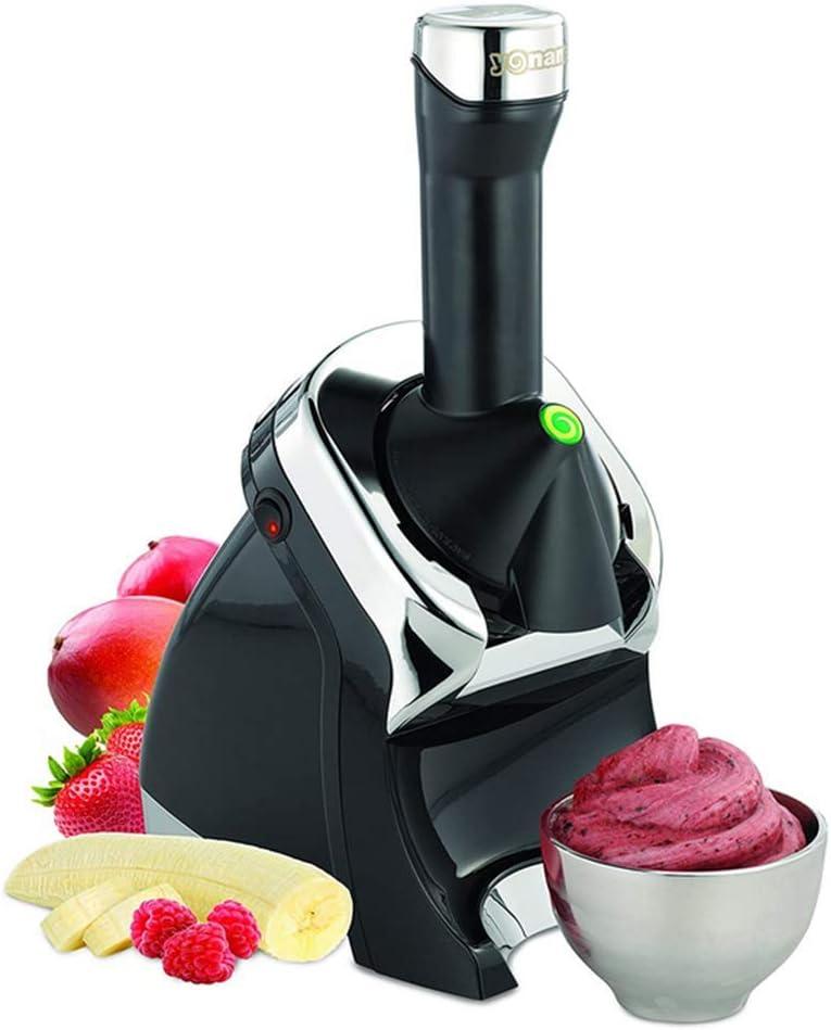 BIYLL Ice Cream Machine, 220W Fully Automatic Mini Fruit Ice Cream Machine, Healthy, Simple One Push Operation,for Home DIY Kitchen,351716CM.