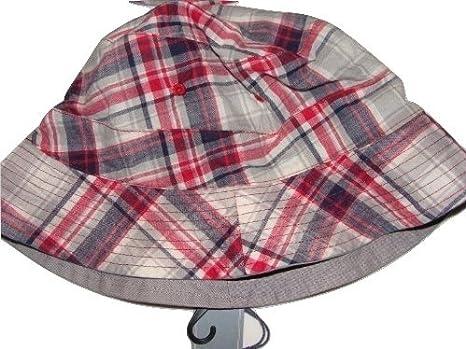 John Lewis Mens Reversible Check Fisherman Bucket Hat 100% Cotton M or L RRP aa4b830633f