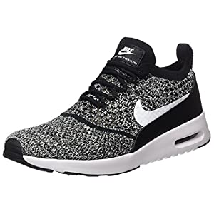 Nike Womens Air Max Thea Ultra FK Black/White Running Shoe 7 Women US