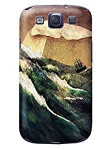 LarryToliver cheap samsung Case - Thin Shell Plastic Case samsung Galaxy s3 Case - Customizable Creative Collage Arts pictures #2