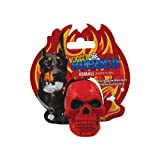 Tuffy Rugged Extra Small Rubber Skull Toy, Red, My Pet Supplies