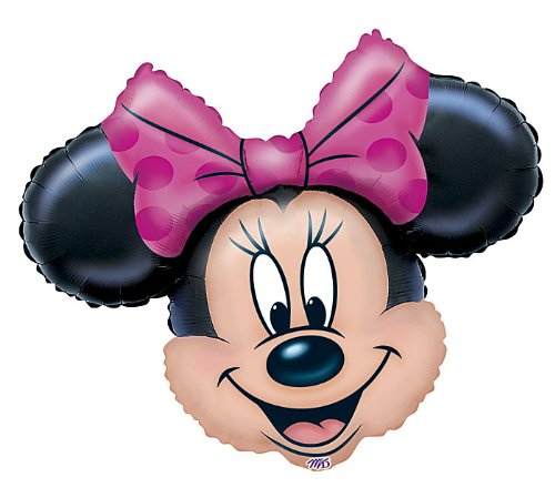 Anagram Disney Minnie Mouse Head Jumbo 28