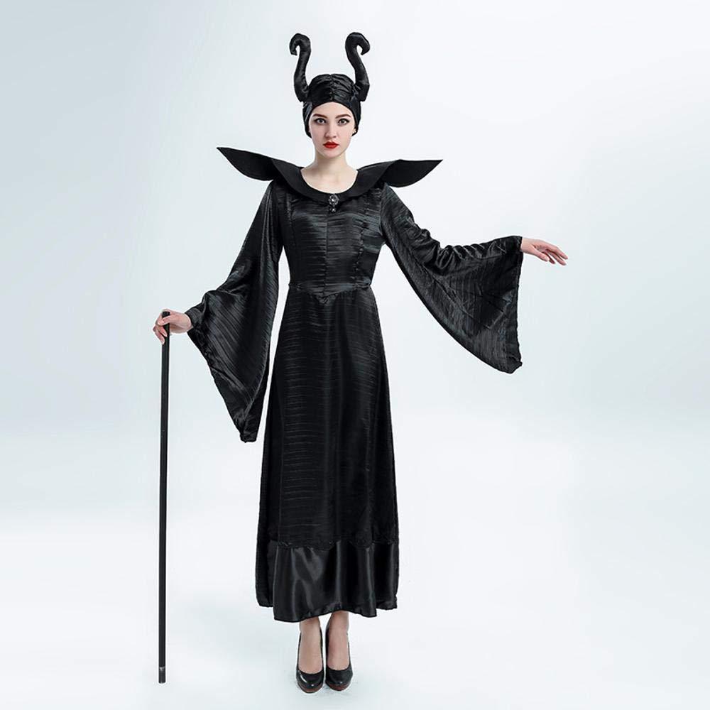 Ambiguity Disfraz de Halloween Mujer Negra Bruja Rendimiento ...