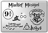 PC Hardware : Harry Potter Decal Set - Apple Macbook Laptop Vinyl Sticker Decal
