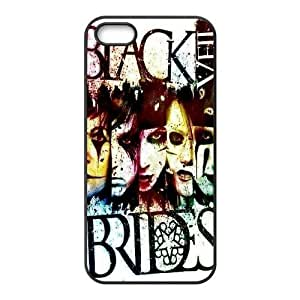 Custom High Quality WUCHAOGUI Phone case BVB - Black Veil Brides Music Band Protective Case For Apple Iphone 5 5S Cases - Case-13