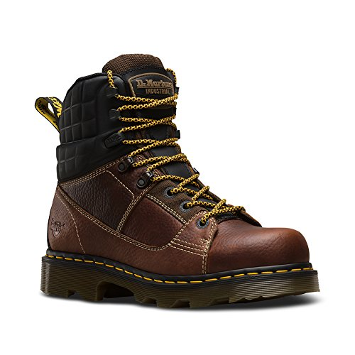 Boots 8 Camber 6 Martens Us M Uk Women's Dr 4 Brown Tie Ns nwqYITETA