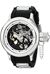 Invicta Men's 17263 Russian Diver Analog Display Mechanical Hand Wind Black Watch
