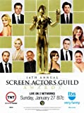 14th Annual Screen Actors Guild Awards - 11 x 17 Movie Poster