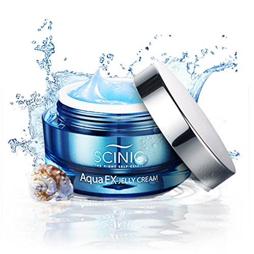 SCINIC Aqua EX Jelly Cream Moisture Face All Skin Types Seawater Women 50ml (Scinic Honey All In One Ampoule Ingredients)