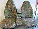 60 40 split camo seat covers - Durafit Seat Covers Woodland Camo, 1993-1997- Ford Ranger and Explorer High Back 60/40 Split Bench with Opening Console Seat Covers in Velour