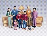 Marvel Education 136 Pretend Play Hispanic Family Set of 8 Figures
