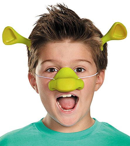 Shrek Costumes Adult (Disguise Costumes Shrek Nose And Ears Accessoy Kit)