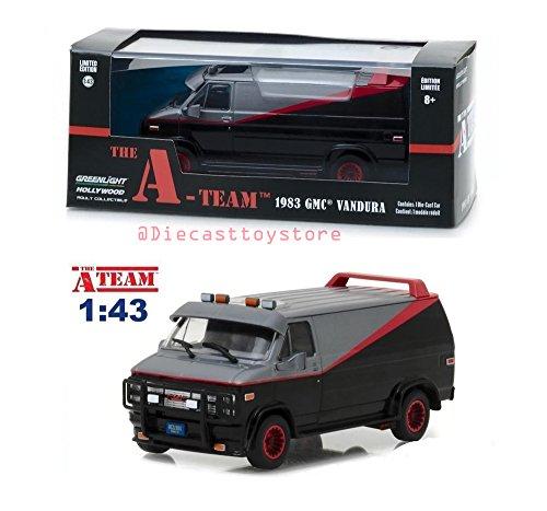 Greenlight 86515 Diecast Toy, Black/Red/Grey