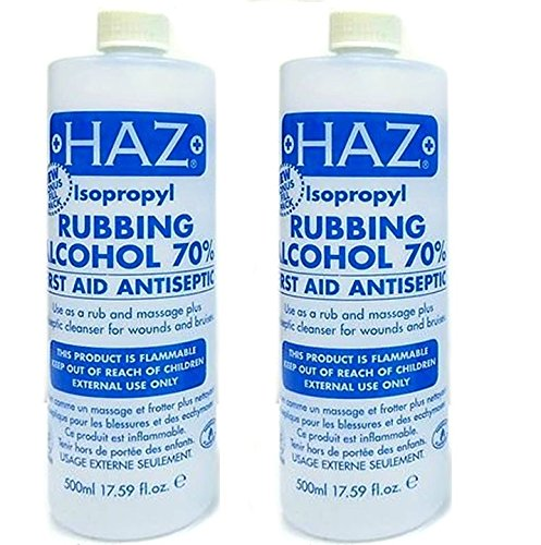 Haz 500 ml Isopropyl Rubbing Alcohol First Aid Anti Septic - Pack of 2 product image