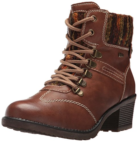 Women's Bootie Ankle Luigina Step Cognac Spring nIBq5x4wC