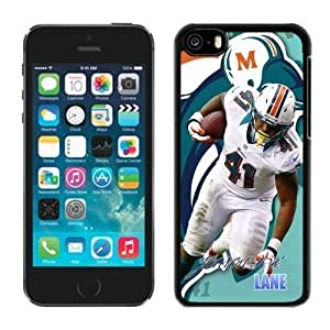 NFL Miami Dolphins Jorvorskie Lane iphone 5C Casecell phone cases&Gift Holiday&Christmas Gifts NFIU8714325
