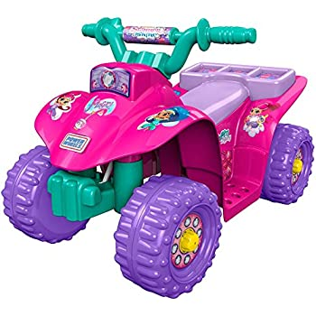 ride on toy quad battery powered ride on toy atv four wheeler with princess theme. Black Bedroom Furniture Sets. Home Design Ideas
