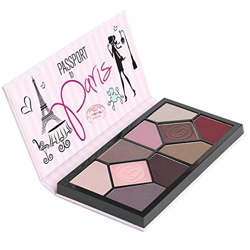 Coastal Scents Passport to Paris Eye Shadow Palette (PL-062)