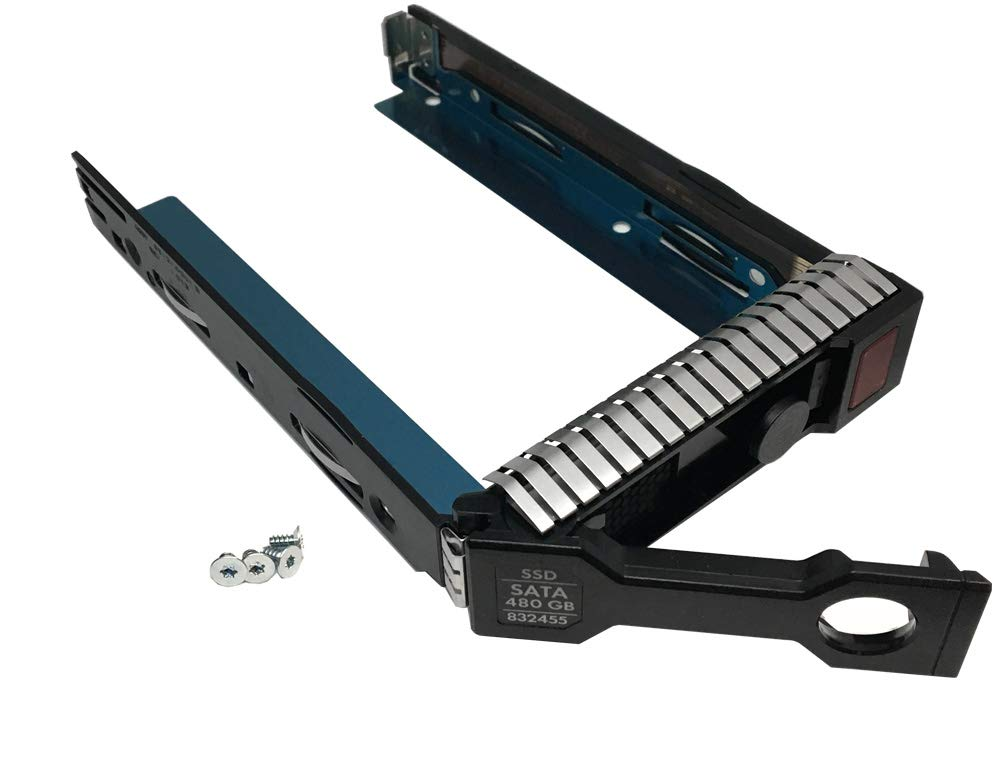 Genuine HP 3.5'' SFF SAS & SATA Hard Drive Solid State Drive Smart Carrier Tray (651314-001) for HP Proliant Server by HP (Image #6)