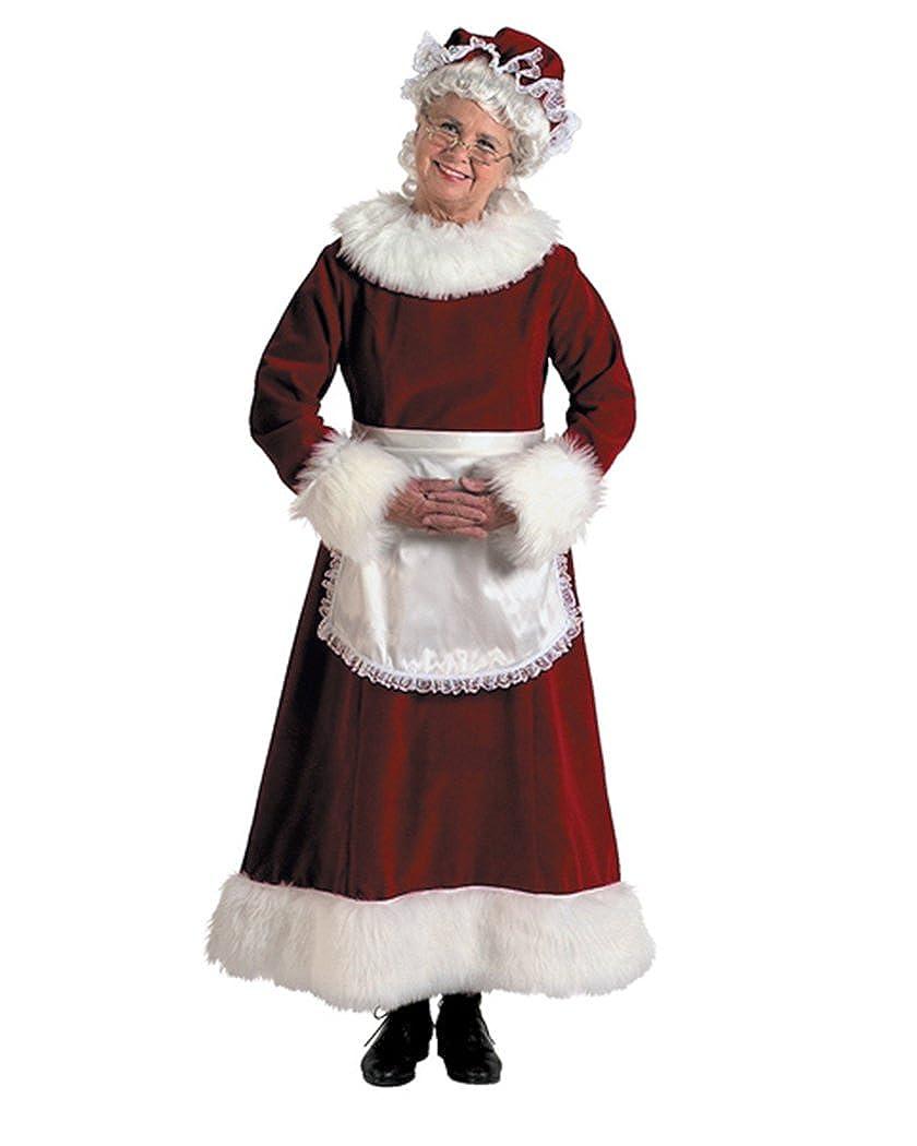 Amazon.com: Halco - Mrs. Claus Dress Adult Plus Costume ...