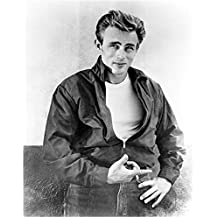 James Dean Smoking and Pointing Finger 8 x 10 Inch Photo