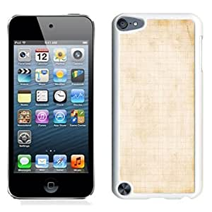 NEW Unique Custom Designed iPod Touch 5 Phone Case With Old Notebook Lockscreen_White Phone Case