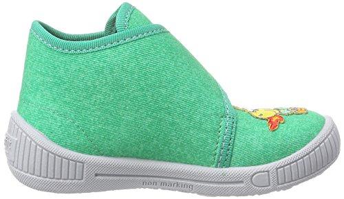 SuperfitBULLY - pantuflas sin forro Niños Verde - Grün (GRÜN 09)
