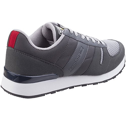 Shoes Mens Gris Lightweight Lace Sport Up Lambretta Casual Elite Trainers RUqHpwq8n