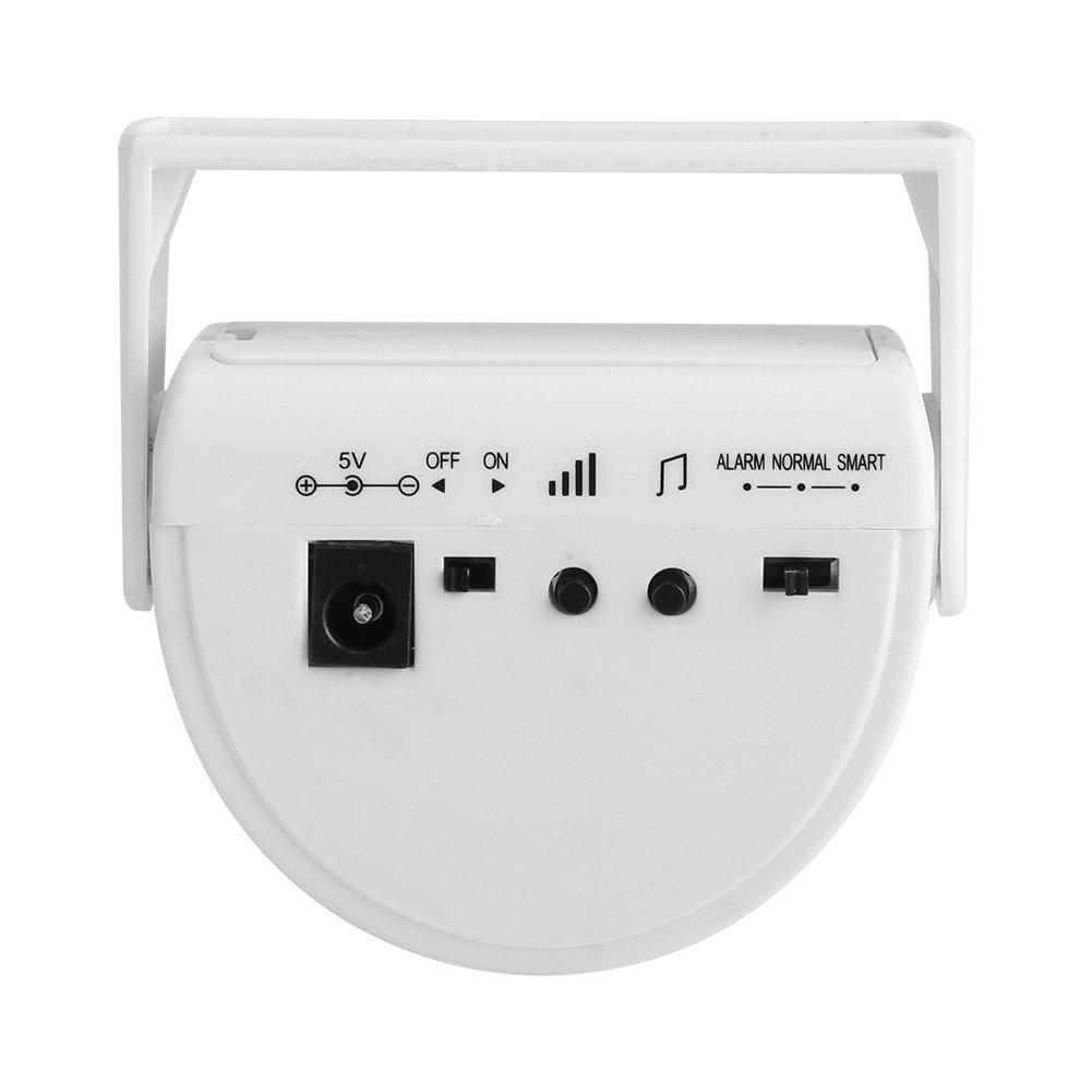 Timbre inalámbrico, funciona con pilas Sensor de movimiento timbre invitados Welcome voz hogar seguridad Hotel