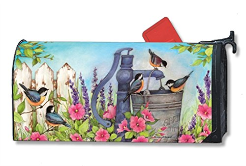 Birds of Spring Large MailWraps Magnetic Mailbox Cover #2133