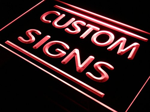 tm ADV PRO Custom Signs/Neon Signs/LED Signs/Edge Lit Signs/Your Own Design (16x12 inches, - Inch Neon Light 12
