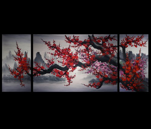 Asian Painting Chinese Cherry Blossom product image