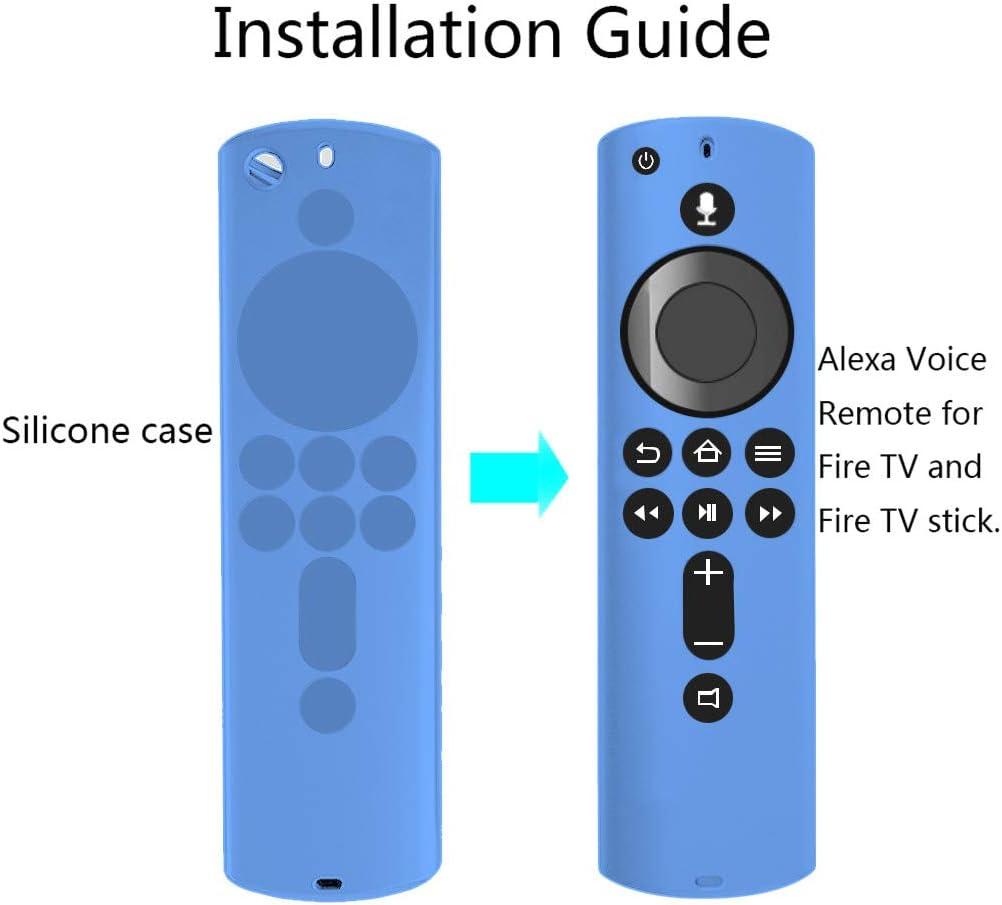 Aliturtle Luminous Protective Cover for Fire TV Stick 4K Remote ...