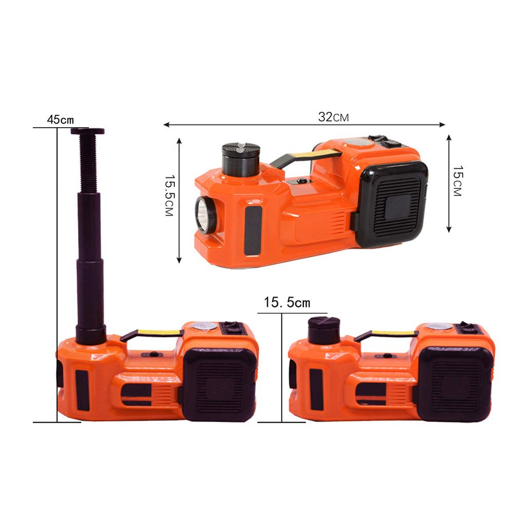 Amazon.com: Electric Hydraulic Jack,3.5 Ton 12V DC Electric Hydraulic Car Floor Jack With LED Light For Car,Sedan,Van,SUV: Home Improvement