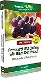 Resveratrol Max 5000mg | 60 Capsules | 100% money back guarantee | Manufactured in the UK